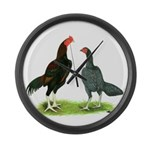 Thailand Gamefowl Giant Clock