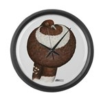 Pouter Pigeon Giant Clock