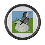 Opal Trumpeter Pigeon Giant Clock