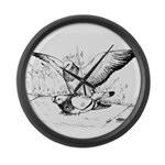 Pigeon Mates Giant Clock