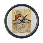 Mealy English Trumpeter Pigeo Giant Clock