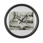 Texan Pioneer Pigeons Giant Clock