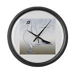 Polish Shortface Pigeon Giant Clock