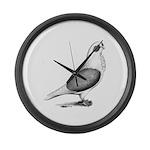 Turbiteen Pigeon Giant Clock