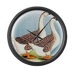 Goose and Gander Giant Clock