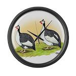 Pied Guineas Giant Clock