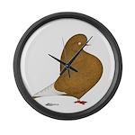 Yellow Domestic Flight Giant Clock