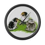 Creme Brabanter Chicks Giant Clock