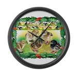 Chicks For Christmas! Giant Clock