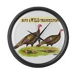 Wild Thanksgiving! Giant Clock