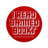 """Banned Books"" 3.5"" Button (100 pack)"