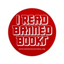 """Banned Books"" 3.5"" Button"