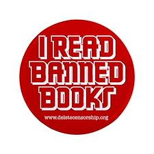 """Banned Books"" 3.5"" Button"