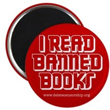 """Banned Books"" 2.25"" Magnet (10 pack)"