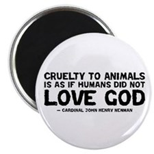 "Quote - Newman - Love God 2.25"" Magnet (10 pack)"