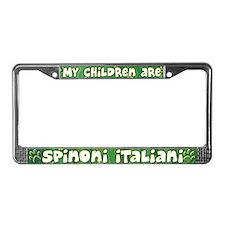 My Children Spinoni Italiani License Plate Frame