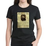 Davy Crockett Women's Dark T-Shirt
