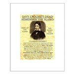 Davy Crockett Small Poster