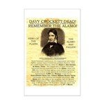 Davy Crockett Mini Poster Print