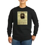 Davy Crockett Long Sleeve Dark T-Shirt