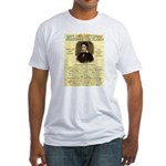 Davy Crockett Fitted T-Shirt