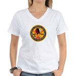 B.I.A. SWAT Women's V-Neck T-Shirt