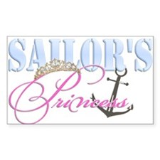 Sailor's Princess Rectangle Decal