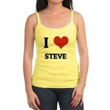 I Love Steve Ladies Top