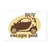 SUV Escape Pod Postcards (Package of 8)