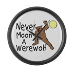 Moon A Werewolf Giant Clock