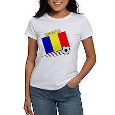 Romanian Soccer Team Tee