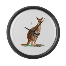 Western Gray Kangaroo Giant Clock