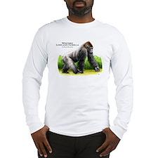 Western Lowland Gorilla Long Sleeve T-Shirt