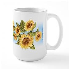 sunflower Ceramic Mugs