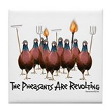 Pheasants1 Tile Coaster