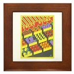 Fruit Store Framed Tile