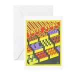 Fruit Store Greeting Cards (Pk of 10)