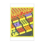Fruit Store Mini Poster Print