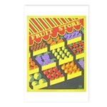 Fruit Store Postcards (Package of 8)