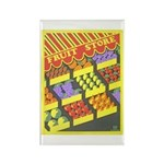Fruit Store Rectangle Magnet (10 pack)
