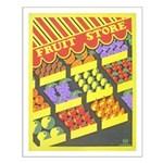 Fruit Store Small Poster