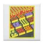 Fruit Store Tile Coaster