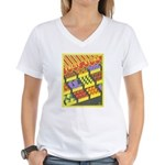 Fruit Store Women's V-Neck T-Shirt