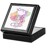 Xinyu China Map Keepsake Box