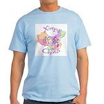 Xinyu China Map Light T-Shirt