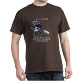 Earth Kicks Asteroid T-Shirt