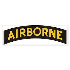 AIRBORNE Tab Bumper Bumper Sticker