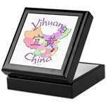 Yihuang China MAp Keepsake Box