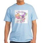 Yihuang China MAp Light T-Shirt