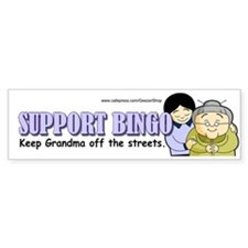 Support Bingo (Bumper Sticker)